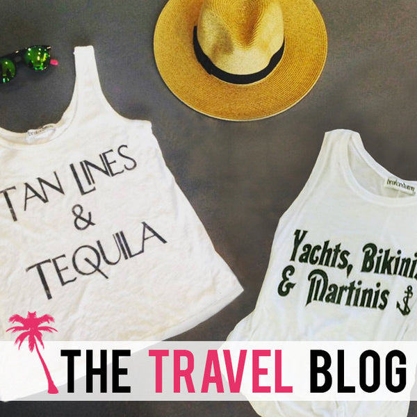 The Travel Blog: Tanlines & Tequila
