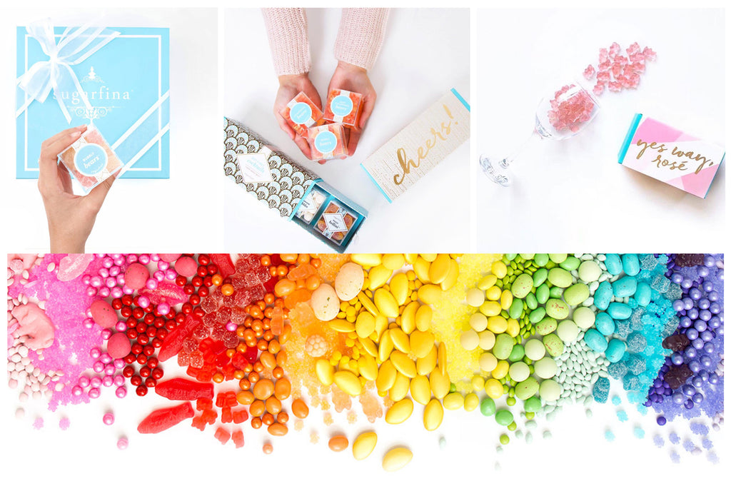 Sugarfina Candy Yes Way Rose Champagne Bears The Red Toad Boutique