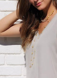 Charme Silkiner Louloute Necklace - The Red Toad Boutique