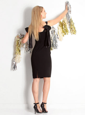 Camilyn Beth Adriene Dress - Black - The Red Toad Boutique