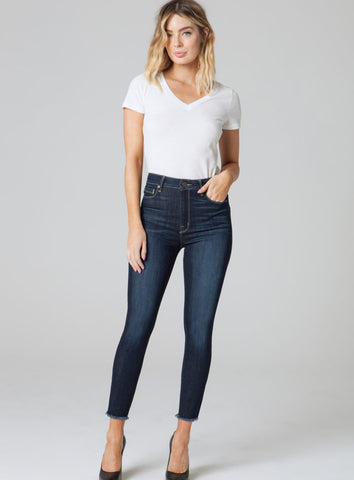 Parker Smith Bombshell Crop Skinny Jean - The Red Toad Boutique