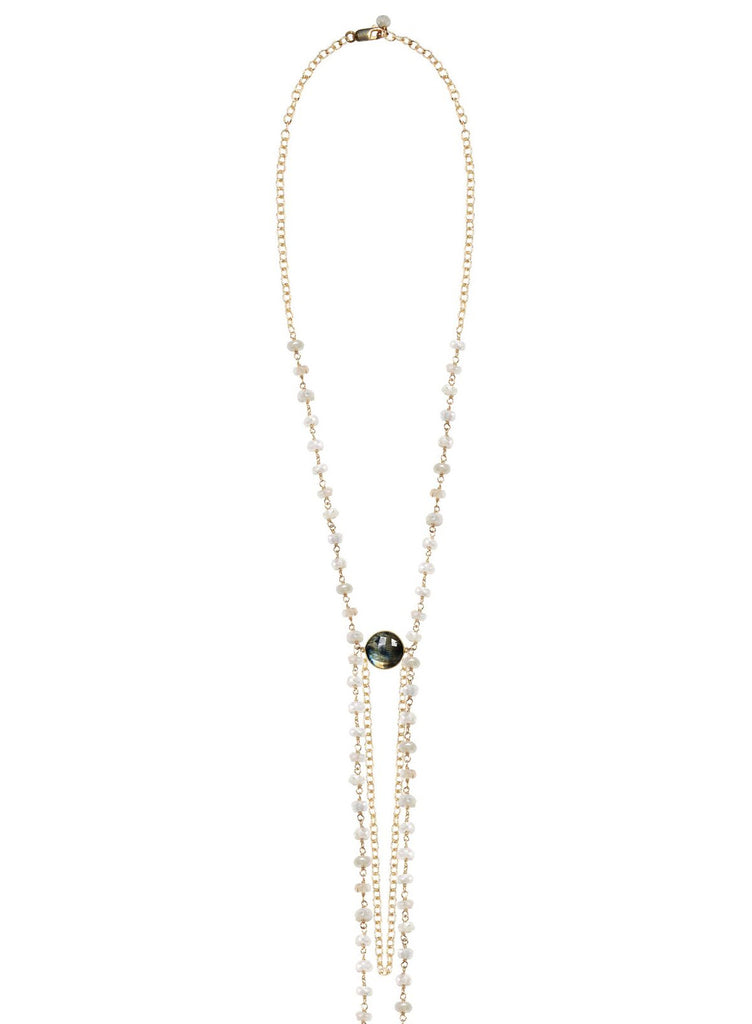 Charme Silkiner Melange Necklace - The Red Toad Boutique