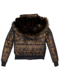 Jocelyn Fur The #QueenMe Quilted Jacket - The Red Toad Boutique