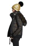 Jocelyn The #QueenMe Quilted Jacket - The Red Toad Boutique