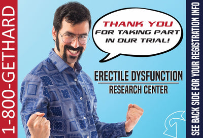 Erectile Dysfunction Embarrassing Postcards