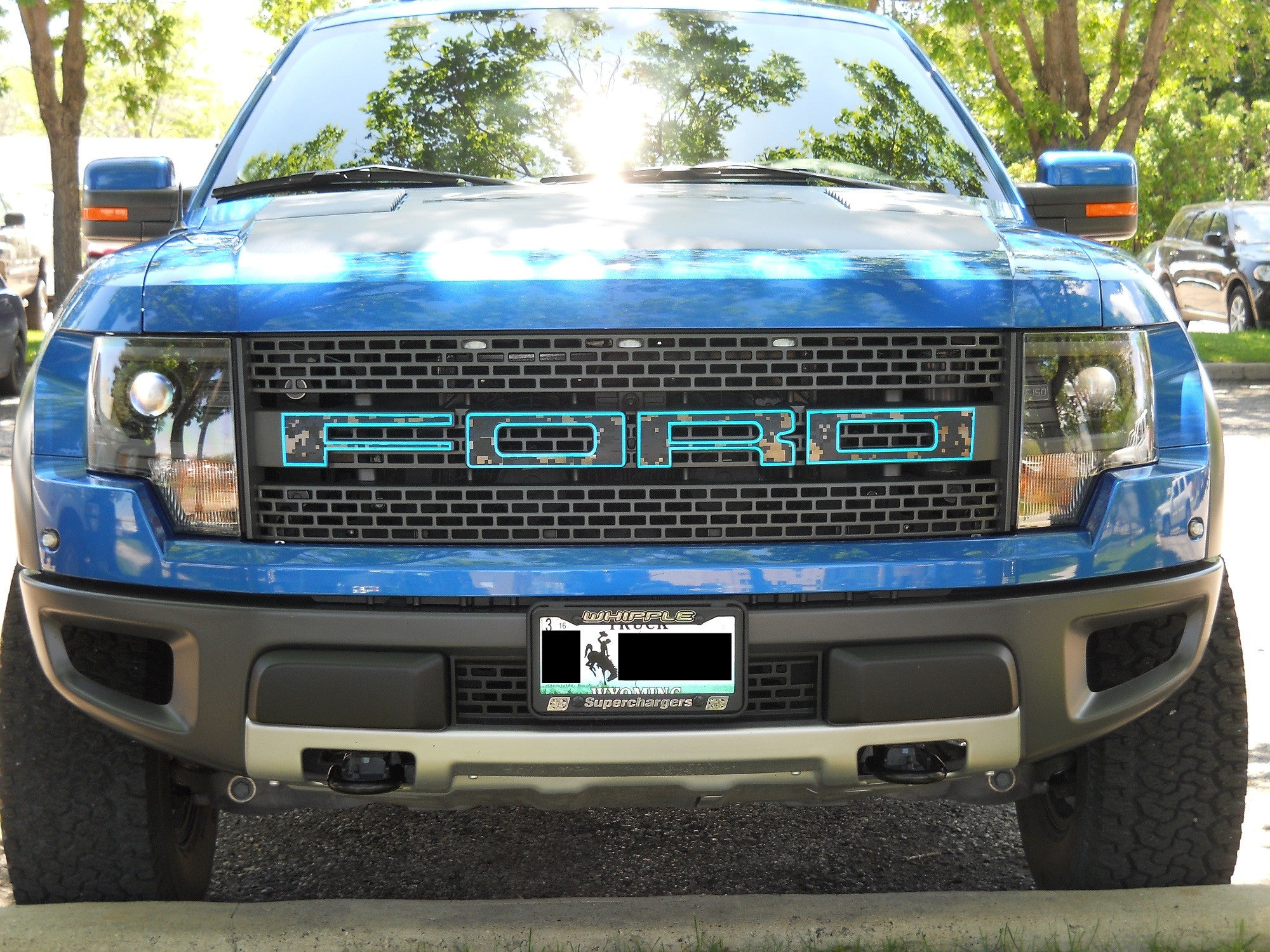 Special Edition 3D Digital Camo Reflective Grille