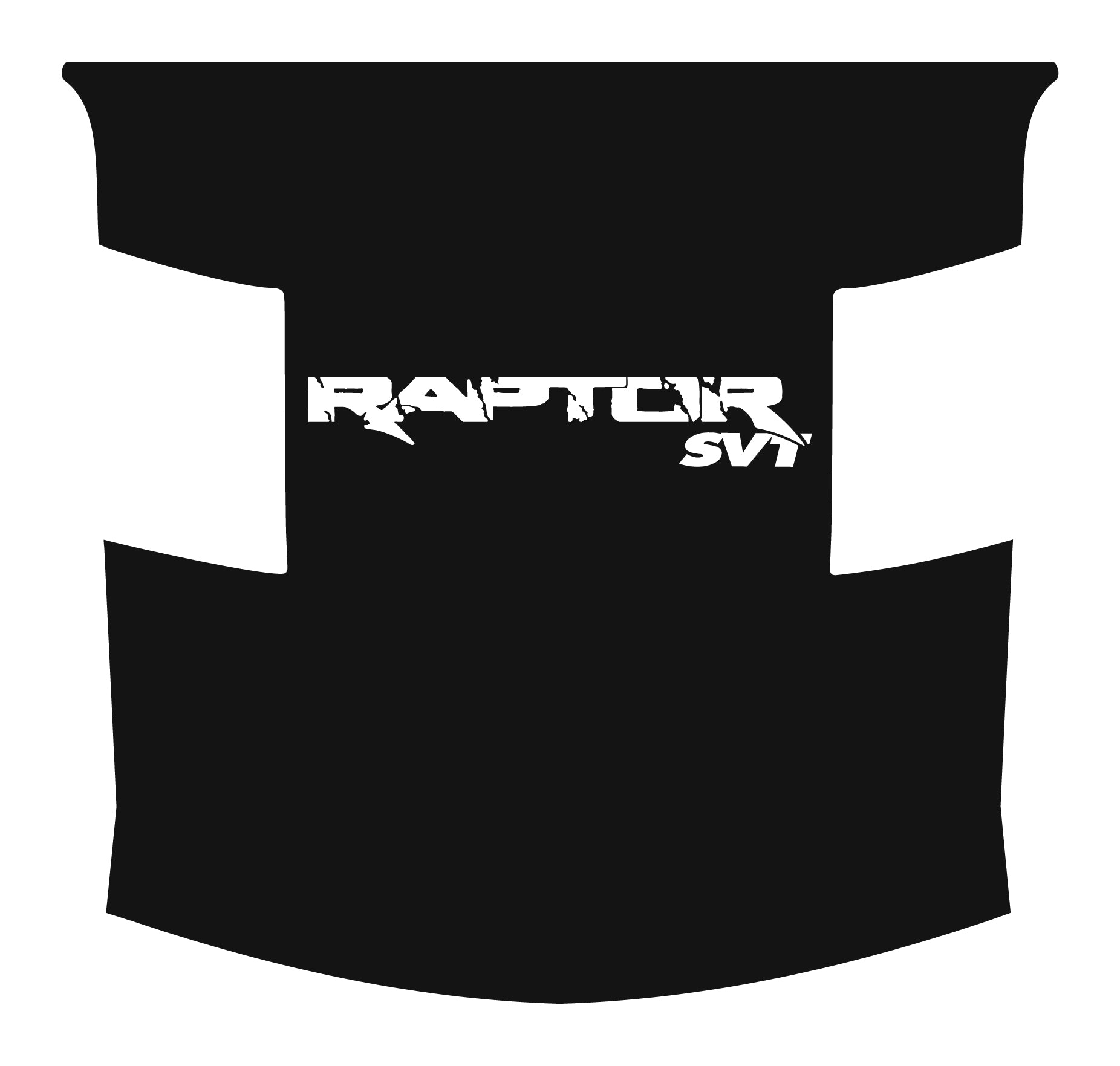 Full Length Hood RAPTOR SVT Contour Cut (Paint Show)