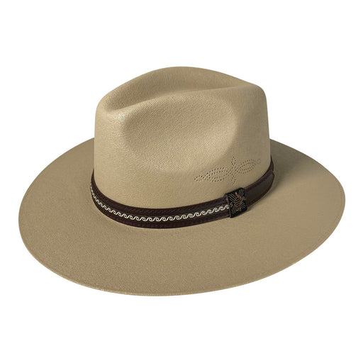 Indiana Eastwood Cowboy Hat Handmade from Oaxacan Cotton - Dark Brown