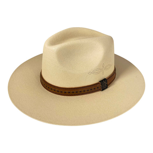 Indiana Eastwood Cowboy Hat Handmade from Oaxacan Cotton - Light Brown