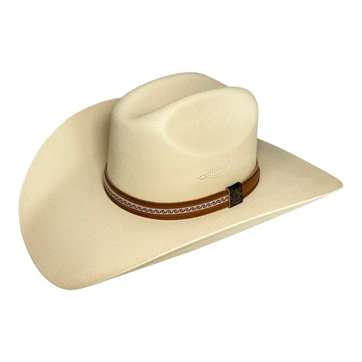 Wide Brim Cowboy Hat Handmade from 100% Oaxacan Cotton - Light Brown