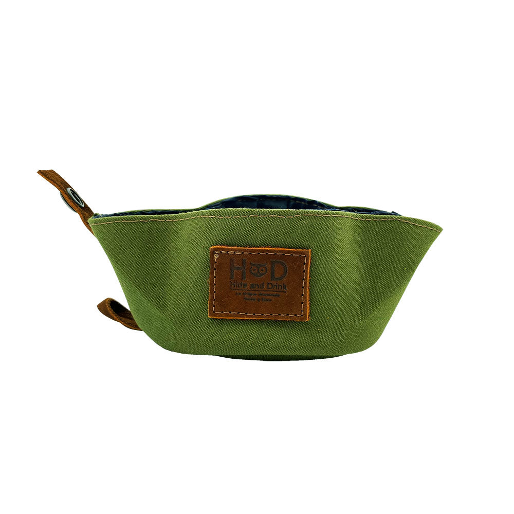 Water Resistant Canvas Dog Bowl