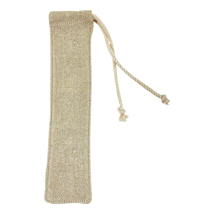 Hemp Reusable Straw Bag