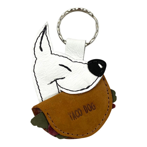 Taco Dog Keychain