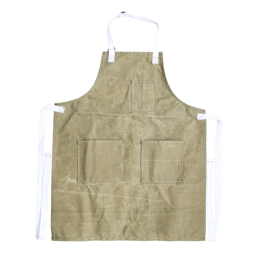 Waxed Canvas Full Apron