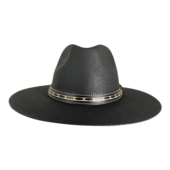 Indiana Eastwood Cowboy Hat Handmade from Oaxacan Cotton - Black