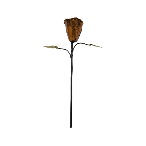 Bronze Wrought Iron Rose