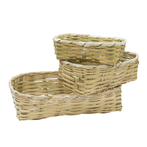 Tule Baskets (3-Pack)
