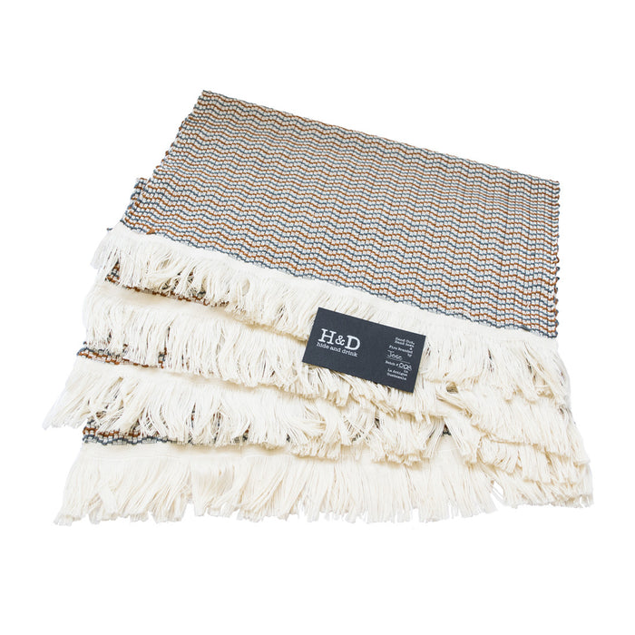 Backstrap Loom Cotton Placemats (4 Pack)