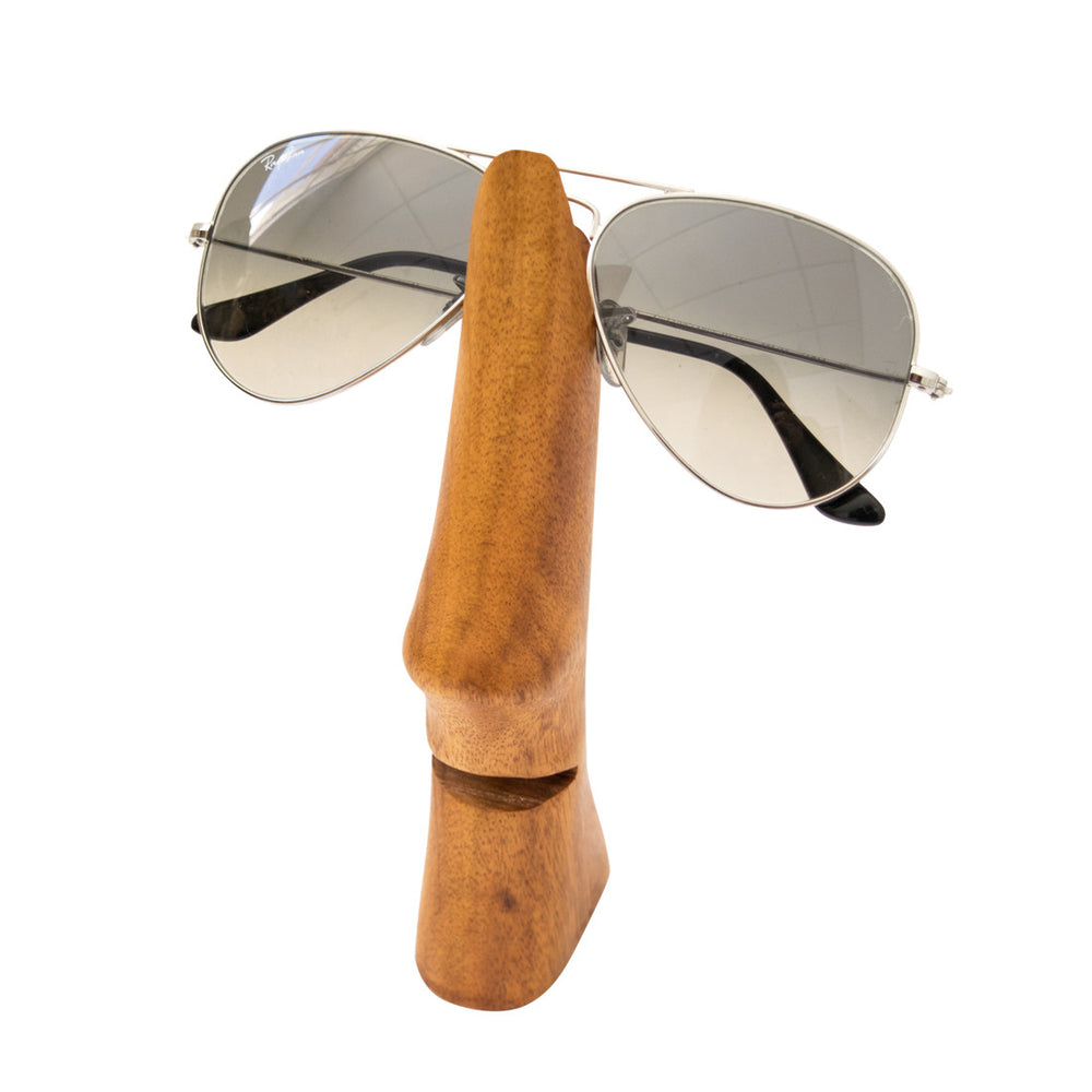 Wood Eye Glasses Holder