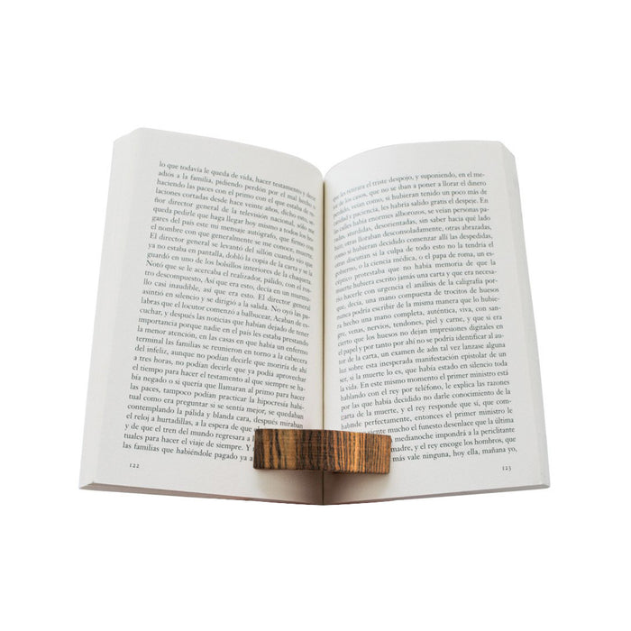 Wood Book Page Holder