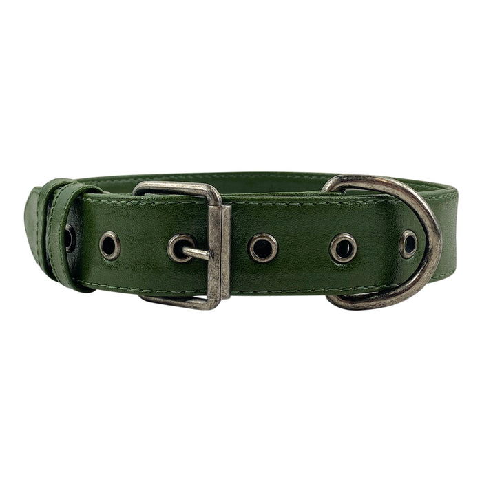 Cactus Leather Dog Collar