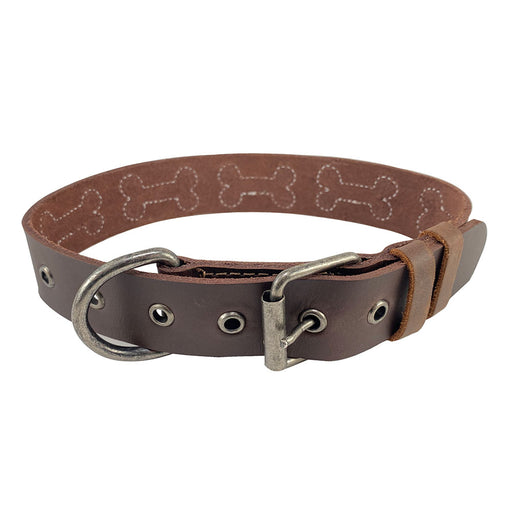 Bones Design Dog Collar