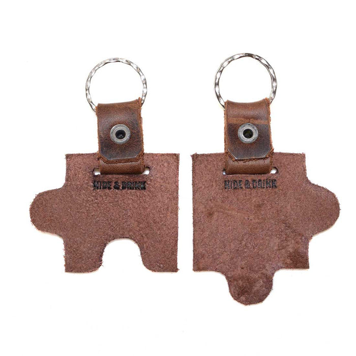 Puzzle Keychain (2 Pieces)