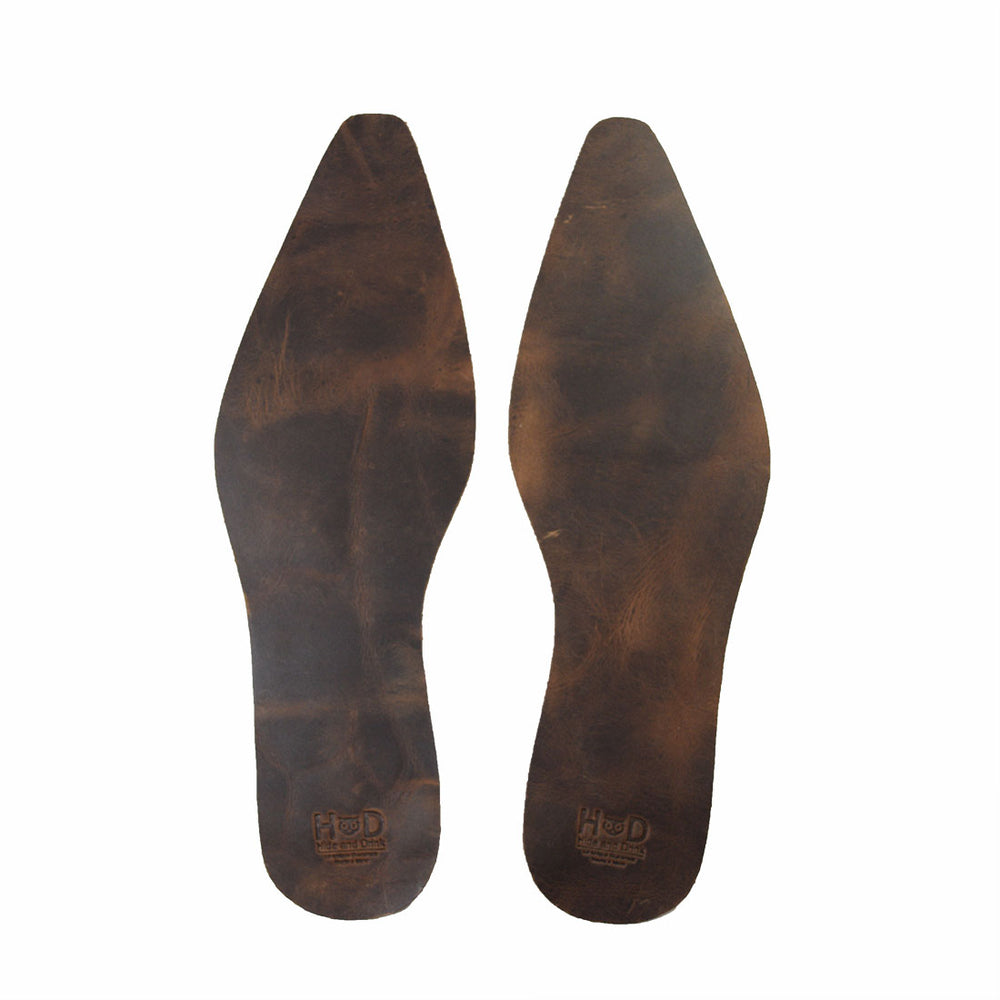 Insole Texas Decoration Rustic Leather