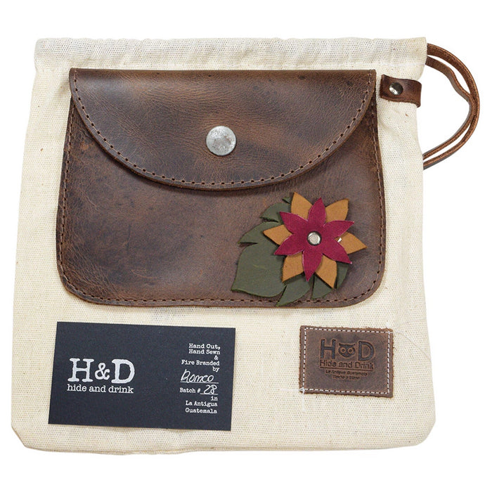 Flower Card Wallet