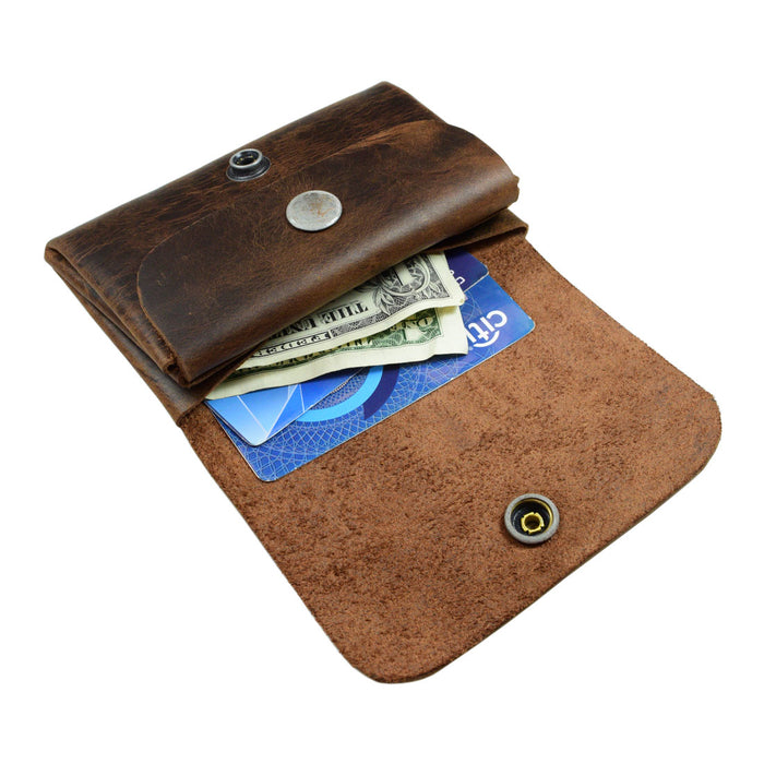 Double Pouch Card Wallet