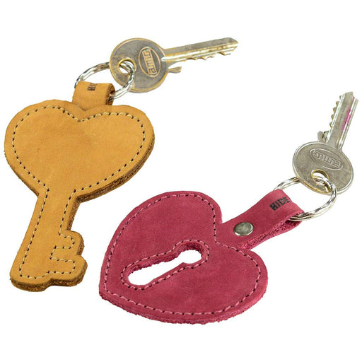 Key Heart Keychain