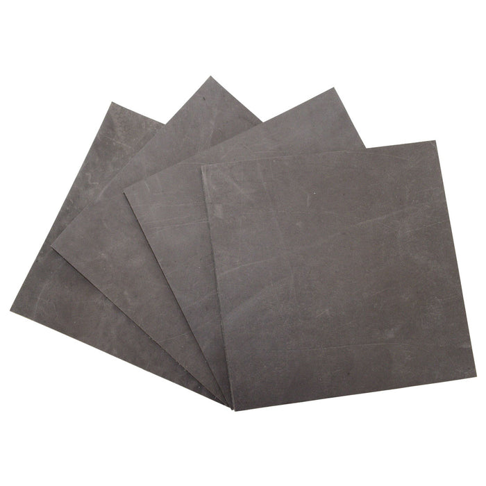 Thick Leather Squared Scraps 6 x 6 in. (4 Pack)