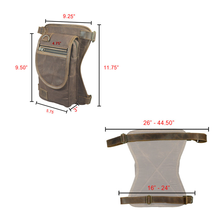 Motorcycle Leg Bag