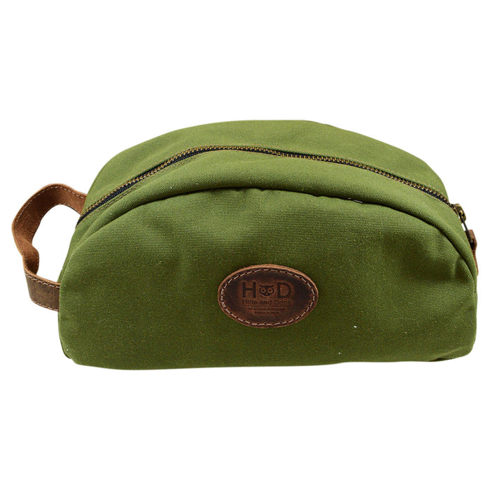 Water Resistant Canvas Toiletry Bag
