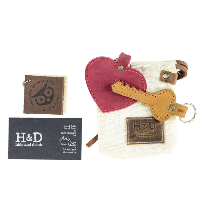Heart Trinket Keychain (2 Pieces)