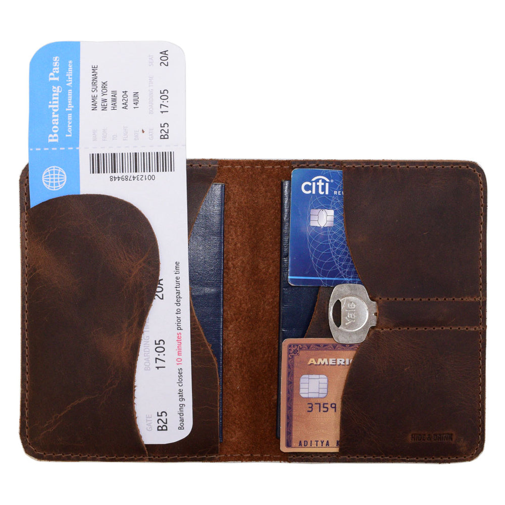 Passport Wallet W/Key Slot