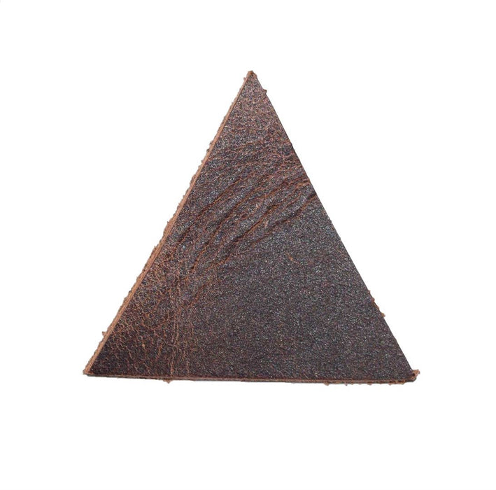 Leather Triangle 1.5 inches Long (Set of 20)