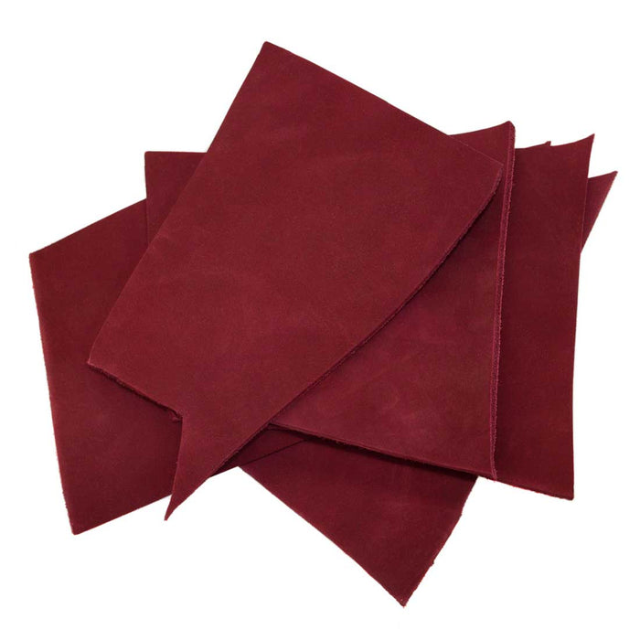 Thick Cow Leather Chips & Scraps (8 oz)