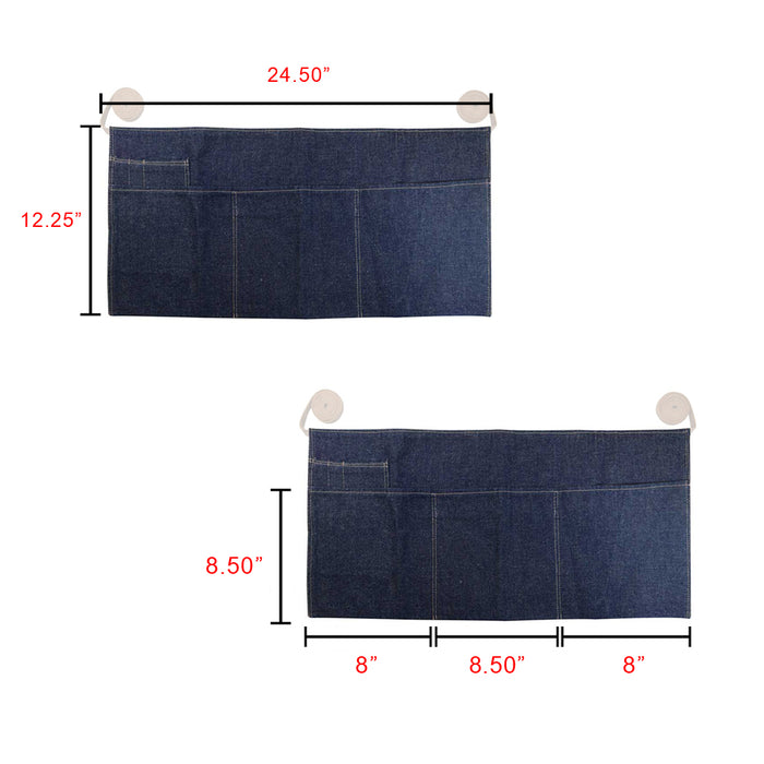 Repurposed Denim Waist Apron