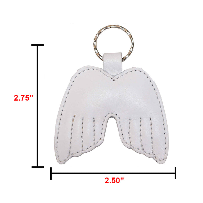 Angel Wings Keychain