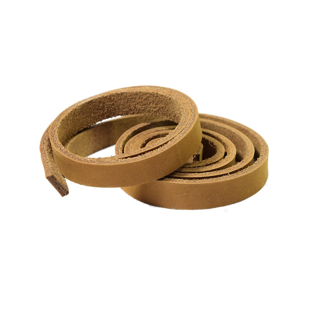 "Thick Leather Strap 1/2"" Wide, 3.5mm Thick"