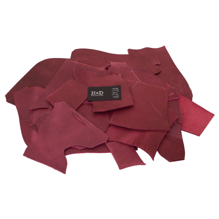 Thick Leather Scraps 2 Lb.