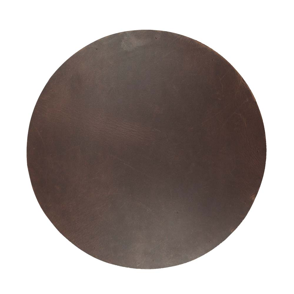 Charcoal Black Thick Leather Durable Mouse Pad Handmade by Hide /& Drink