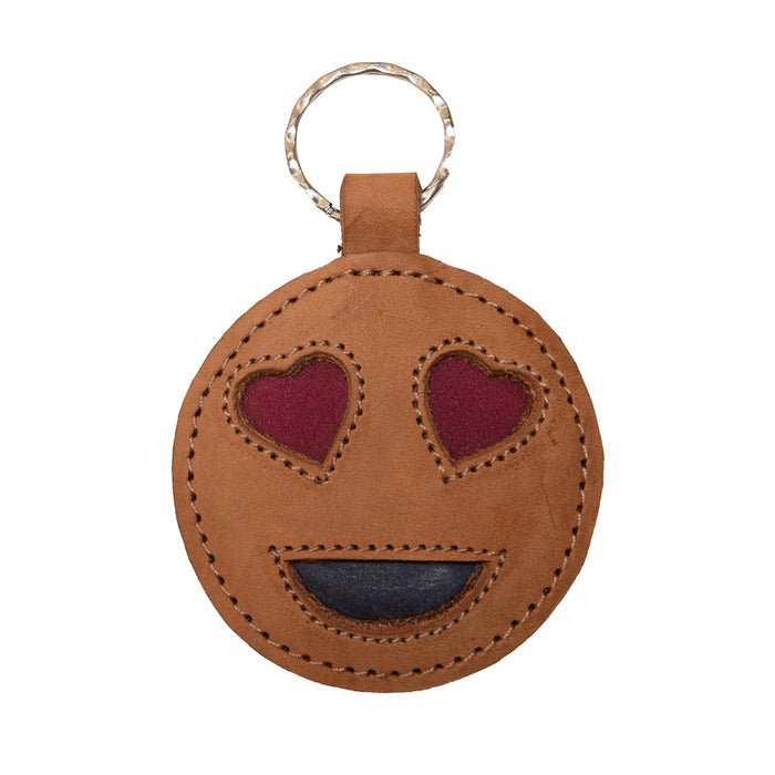 In Love Emoji Keychain