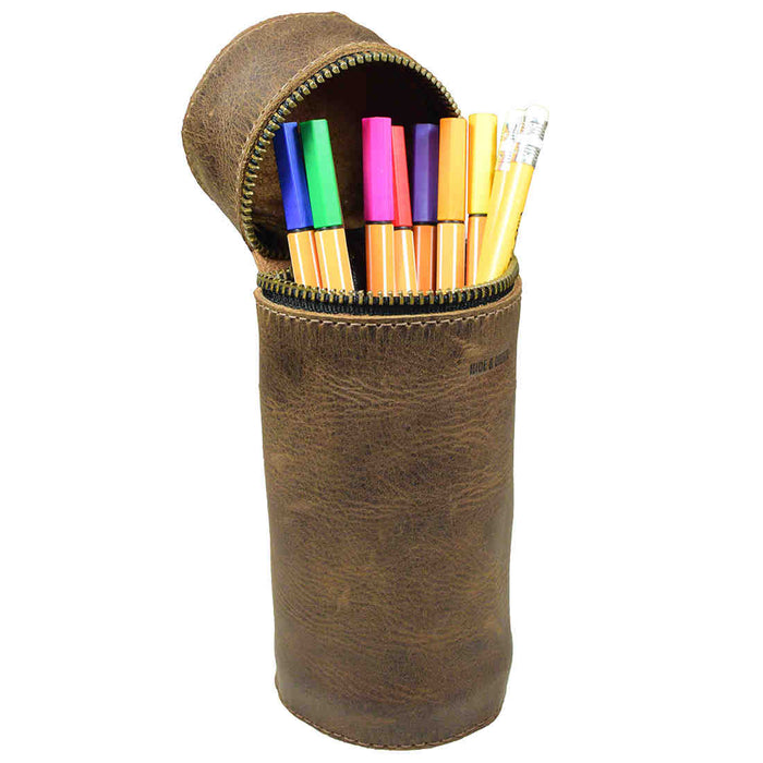Vertical Cylinder Pencil Case