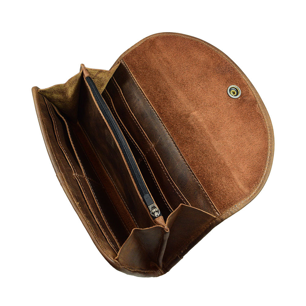 02ca0fbba Rustic Full Grain Leather Cylinder Case Case Handmade by Hide & Drink