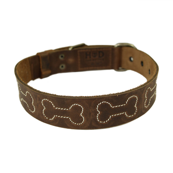 Dog Collar Stitched Designs