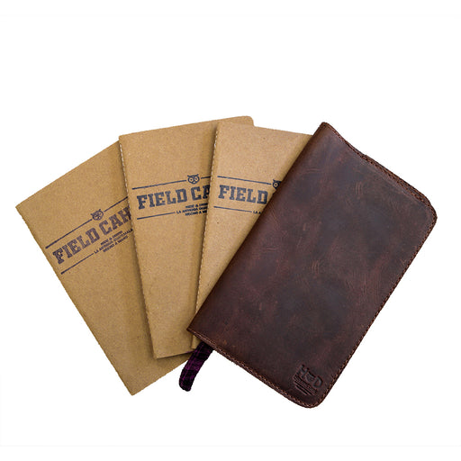 Handmade Notebooks (3 Pack) With Leather Cover