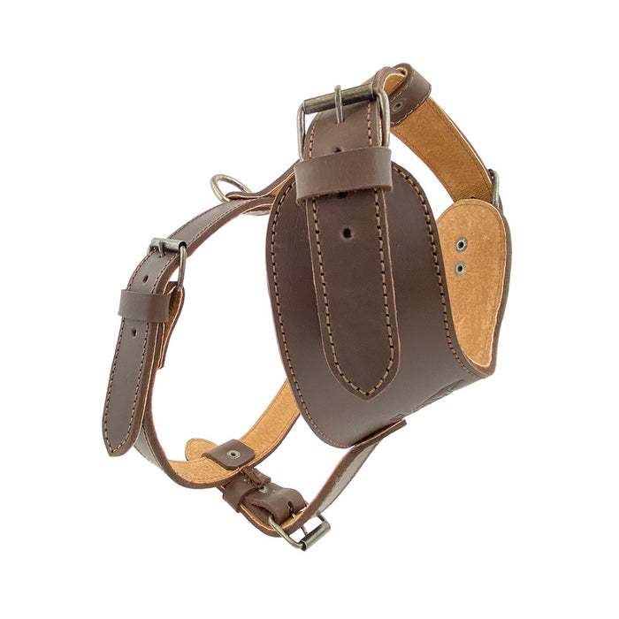 Adjustable Leather Dog Harness