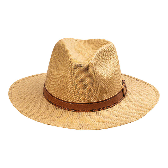 Indiana Eastwood Cowboy Style Hat Handmade from 100% Oaxacan Jute - Café Con Leche